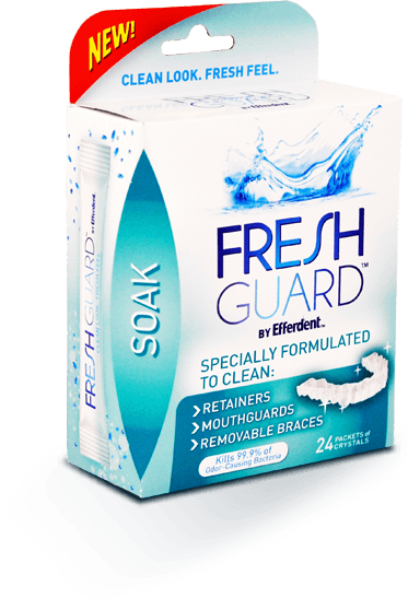 Fresh Guard™ by Efferdent™ Soak
